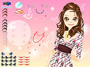 Play Girl butterfly make up Game