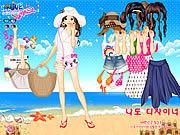 Bikini Dress Up game