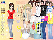 Chic ways to wear denim Spiele