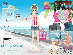 Hawaiian Beach Girl game