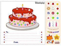 Birthday Cake game