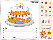 Play Birthday cake Game