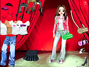 Play Stage girl dress up Game