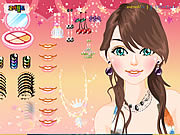 Play Charming hair styles Game