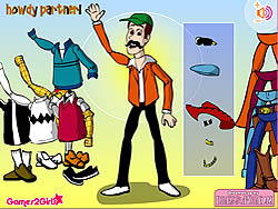 Woody Dress Up game