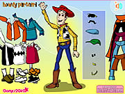 Play Woody dress up Game