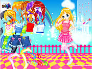 Play Dancing madeline dress up Game