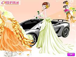 Happiest Bride Dressup game