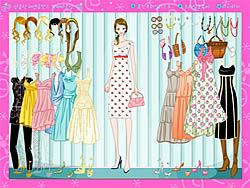Girl in Summer Dress game