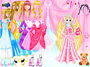 Angel Style Dress Up game