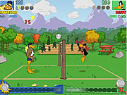 Play Tricky duck volleyball Game