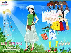 Sunshine Dress Up oyunu