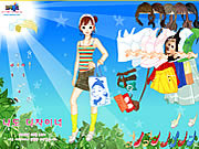 Sunshine Dress Up game