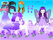 Fairy of March Flower Violet game
