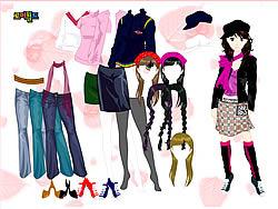 Colorful Girl Dress Up oyunu