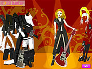 Play Rock style girl Game