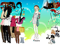 Gioca gratuitamente a Young Girl Dress Up