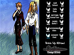 Dressup Hitomi oyunu