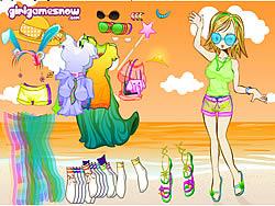 Beach Doll game