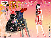 Play Funky dresses dress up Game