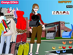 Jessica College Girl Dressup game