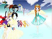 Balerina Dress Up game
