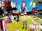 Play Sports girl dressup Game
