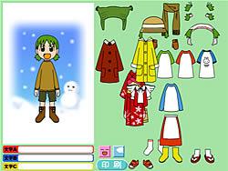 Dress Yotsuba Online game