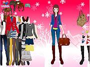 Winter Basics Dress Up game