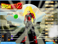 Dragonball Z Dress Up game