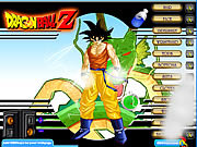 Play Dragonball z dress up Game