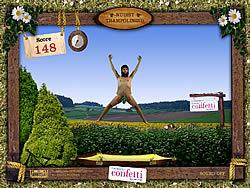 Играть бесплатно в игру Nudist Trampolining
