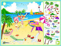 Sea Side Decoration oyunu