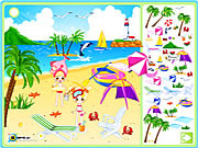 Play Sea side decoration Game