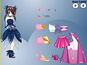 Play Princess anime dress up Game