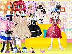 Gioca gratuitamente a Sweet Candy Dress Up
