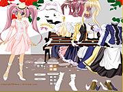 Jugar Lady anime dress up Juego