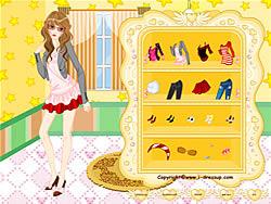 Girl Dressup Makeover 6 game