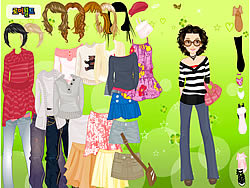 Cool for School Dress Up game