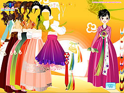 Korean Dress Up game