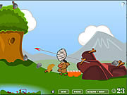 Play Sling wars in the middle ages Game
