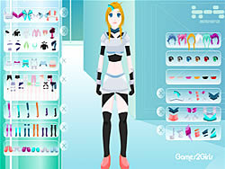 Robot Girl game