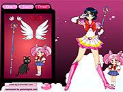 Jugar Sailor moon dressup Juego