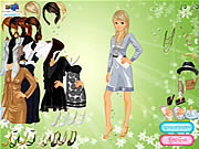 Society Lady Dressup game