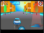 Play Orange josh in crazy rides Game