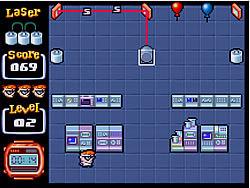Permainan Dexter's Laser Lab