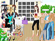 Terrace Dressup game