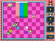 Play Powerpuff girls pillow fight Game
