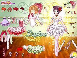 Daphne Dressup game