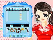 Play Flower girl dressup makeover Game